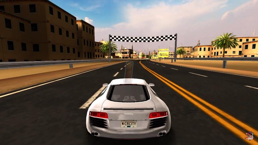 Взломанную city racing 3d